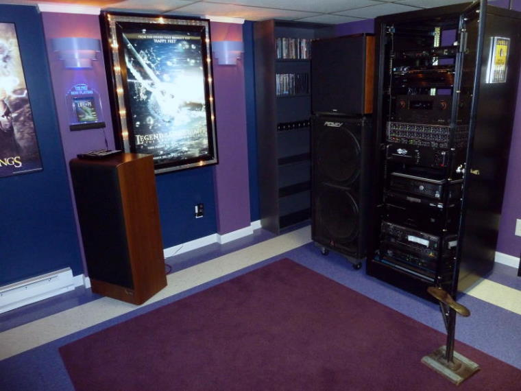 The Frey Theater 120 Quot Screen 3d Blu Ray Amp 5000 Watts