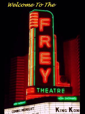 home theater signage the frey home projection theater