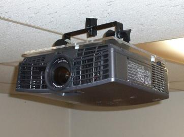 The Frey Home Projection Theater